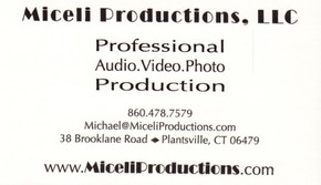 Click to see Miceli Productions, Llc Details