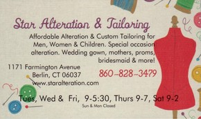 Click to see Star Alterations & Tailoring Details